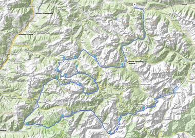 Motorrad Tour Alpen 2001 - [TAG 3] - Pässe: Italien