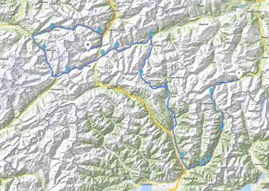 Motorrad Tour Alpen 2002 - [TAG 2] - Pässe: Schweiz