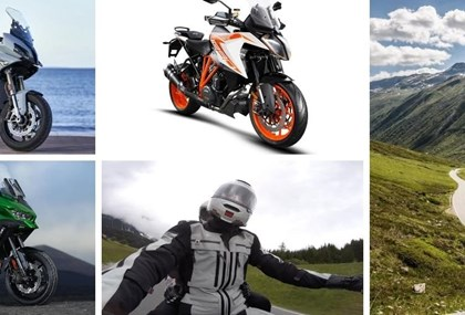 Motorrad Tour Testtour Sportliche Tourer Variante Ofenpass