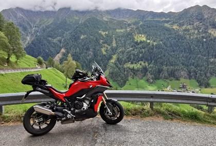 Motorrad Tour Teststour sportliche Tourer - Variante Timmelsjoch