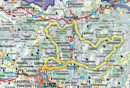 Motorrad Tour Linz - Mühlviertel