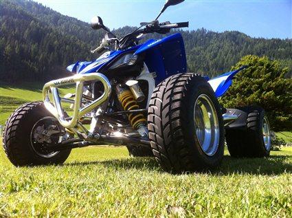 Thundercat Quad on Umgebautes Motorrad Yamaha Yfz 450 R Vom Typ Quad Atv   1000ps At