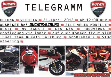 HAUSMESSE - DUCATISALZBURG/RACEPARTS
