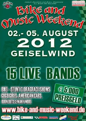 Motorrad- und Musikfestival Geiselwind