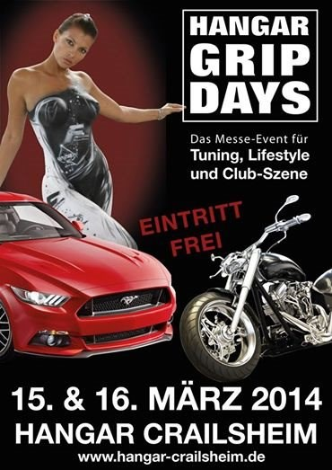 GRIP DAYS im Hangar Crailsheim