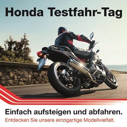 Hondatestfahrtag Probefahrtevent
