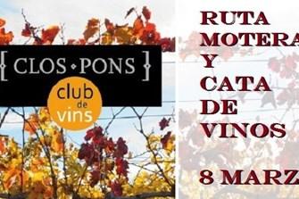 Ruta Motera y cata vinos Bodegas Clos Pons / (Ekke Motor/Benimoto)