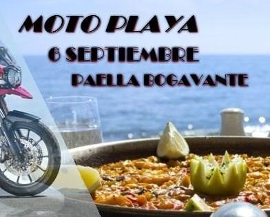 Ruta Familiar Moto Playa / 6 septiembre Lugar: Tienda BenimotoModalidad: Moto CarreteraFecha: 6 septiembreHora: 8:30 amPreu: 25 EUR MenúPaella Bogavante(Restaurante Bar Torrente / Cambr...
