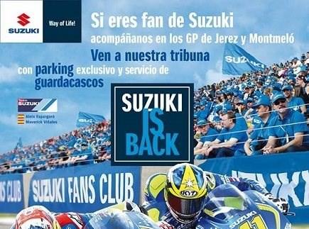 Suzuki is back