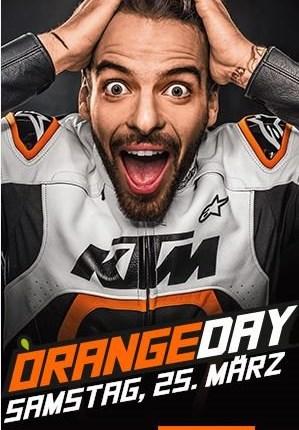 KTM Orangeday  auch dieses Jahr warten wieder die Modellneuheiten von KTM bei uns auf Euch. Und für das leibliche Wohl wird natürlich auch wie immer gesorgt. Hier...