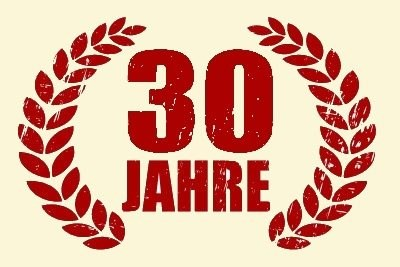 30. jähriges Jubiläum