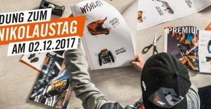 KTM Nikolaustag am 02.Dezember 2017 Am 2.Dezember findet bei uns in Landshut wieder der alljährlich KTM-Nikolaustag statt. Es wird wieder eine würzige Gulaschsuppe, Stollen, Lebkuchen...