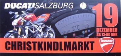 CHRISTKINDLMARKT b. DUCATISALZBURG