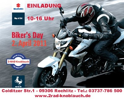 SUZUKI-Bikers-Day bei Knobi
