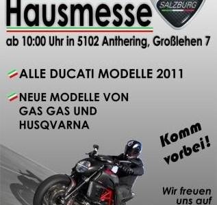 Hausmesse b. Ducati Salzburg/Raceparts