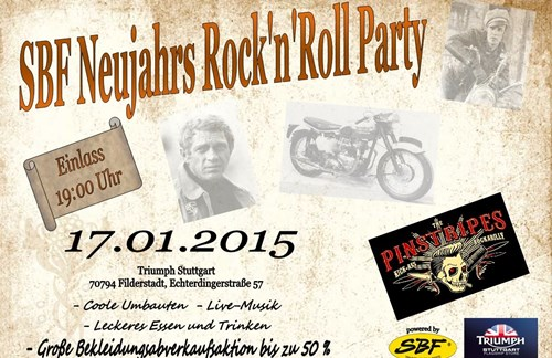 Neujahrs Rock'n'Roll - Party