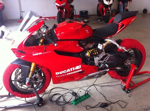 Ducati Renntraining