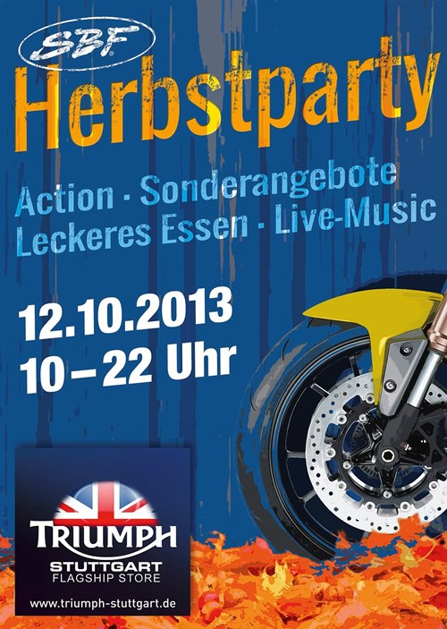 SBF Herbst-Party
