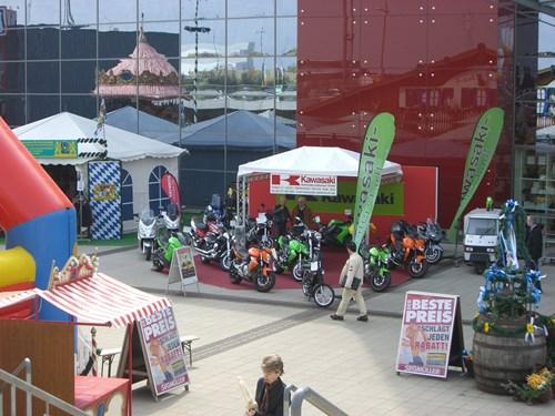 Große Motorradshow