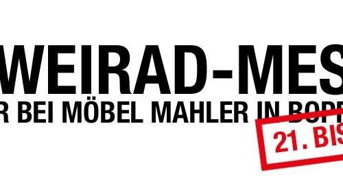 Zweirad-Messe bei Möbel Mahler