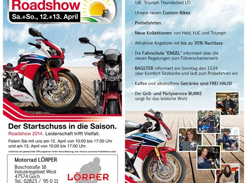 Roadshow 2014