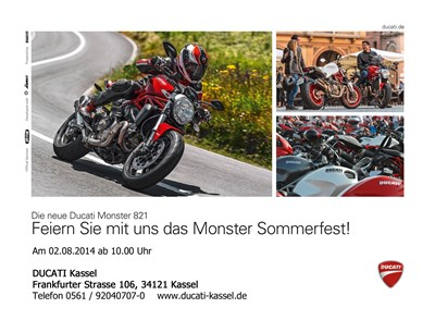 Ducati Monster Sommerfest