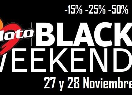 BENIMOTO BLACK WEEKEND / 27-28 Noviembre