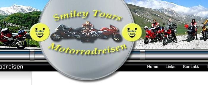 Smiley Tours die Adresse für die schönsten Motorradtouren in Europa