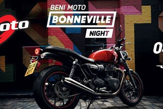 BONNEVILLE NIGHT BENIMOTO