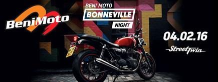 BONNEVILLE NIGHT BENIMOTO
