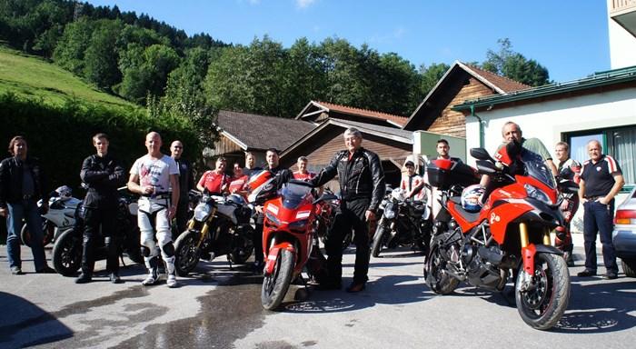 Ducati Ausfahrt nach Saalbach-Hinterglemm