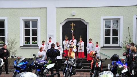 Motorrad Termin Motorradweihe in Ortenburg - Wir sind dabei