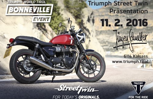 Triumph Street Twin Day