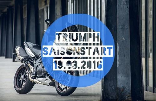 TRIUMPH - SAISONSTART 2016