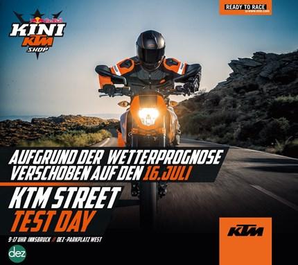 KINI KTM Street Test Day Test it, feel it, love it! Sei ein Teil der Tour! Die KTM STREET TEST DAYS sind eine KTM Truck Tour durch Österreich, bei der die aktuellen KTM Str...