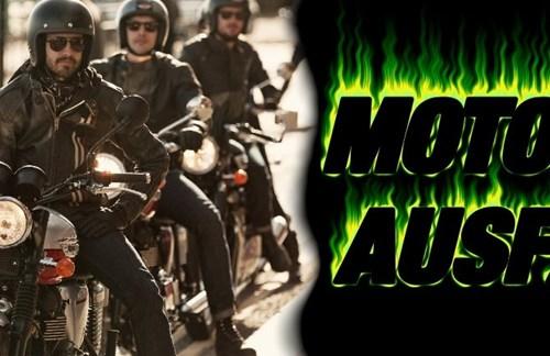 Motorrad-Ausfahrt