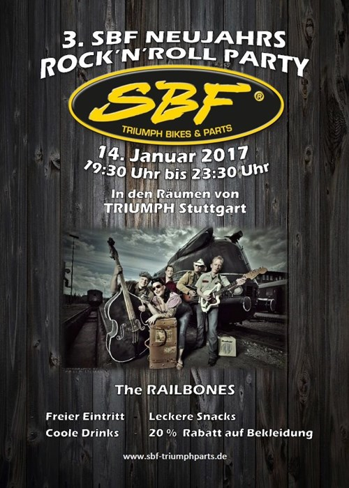 3. SBF NEUJAHRS ROCK'N'ROLL PARTY