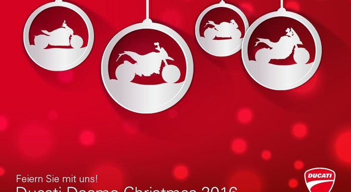 Ducati Desmo Christmas 2016