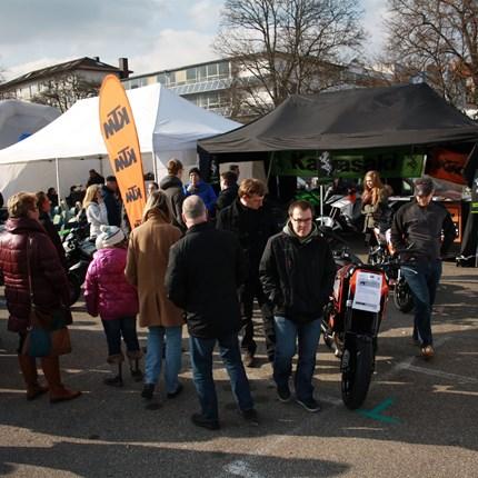 """Auto & Motorradmarkt Pforzheim 2016 Autos?? Egal ob """"Automarkt"""", wir gesellen uns mit unseren Kawasaki & KTM-Motorrädern unter die Autos und freuen uns auf Euch...bei hoffentlich schö..."""