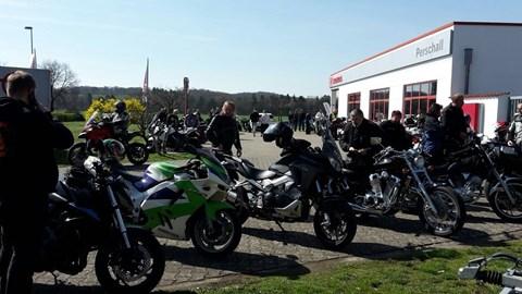 Motorrad Termin Frühlingsmarkt 2019 in Volkach