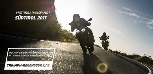 Motorradausfahrt – Südtirol 2017