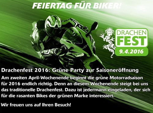 Kawasaki Drachenfest am 09. April 2016