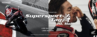 Supersport-Tag am 20. Mai