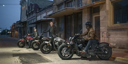 Scout Bobber Launch Party