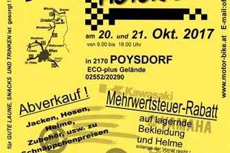 HERBSTPARTY 2017 bei MOTOR-BIKE in Poysdorf