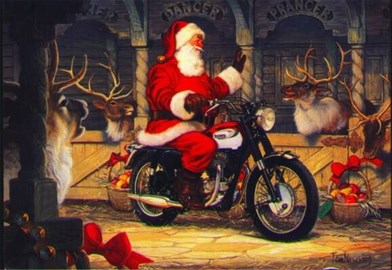 Motorrad Termin Nikolaus-Party