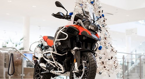 Motorrad Termin KRAMPUSTAG BEIM BMW WIEN MOTORRADZENTRUM