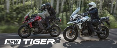 Launch-Event Vorstellung Tiger 800 & Tiger 1200