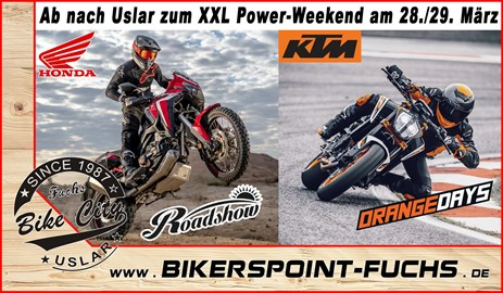 Motorrad Termin 2018er KTM Orange Day