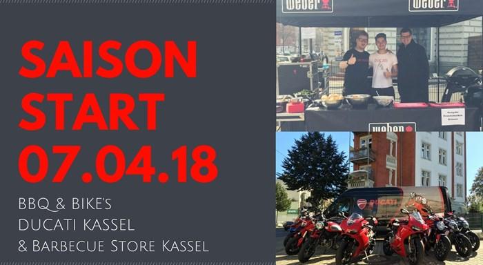 BBQ & Bikes Saison Start 2018 // DUCATI KASSEL